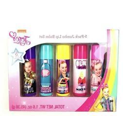 Nickelodeon JoJo Siwa Jumbo Lip Balm Set Girls 5 Pack