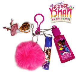 Disney Junior Fancy Nancy  Fur Ball Lip Balm Key Chain Free