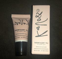 K. Voss Lip Treatment Balm + Gloss NEW NIB Vegan Shade: Rasp