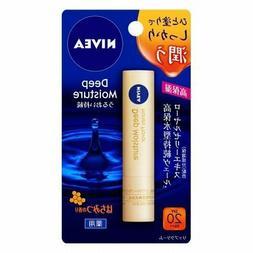 ☀Kao Nivea Deep Moisture Lip Balm  SPF20 / PA++ 2.2g Japan