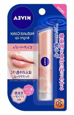 KAO  Nivea Natural Color Bright Up Lip Balm 3.5g - Pink Beig