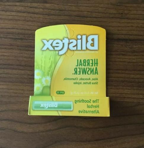 2 x herbal answer lip balm 4