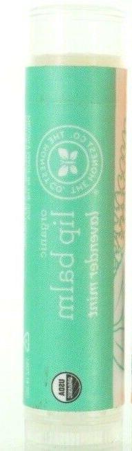 10 pack The Honest Company Organic Lip Balm Lavender mint ch