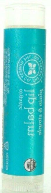 10 pack organic lip balm plain