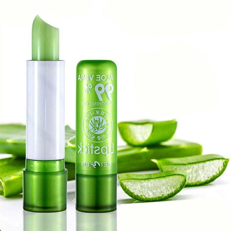 Long-Lasting Natural Aloe Lipstick Color Long Lasting <font><b>Moisturizing</b></font> Lipstick Anti Aging