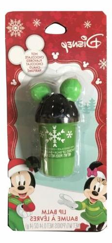 1X Disney Hot Chocolate Flavored Lip Balm 0.14 Oz Cup Shape