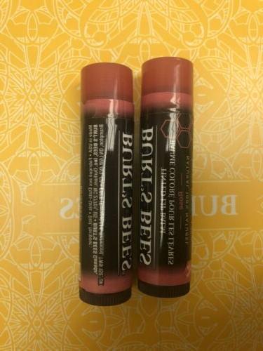 2 burt s bees beeswax rose lip