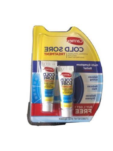 2 pack cold sore treatment multi symptom