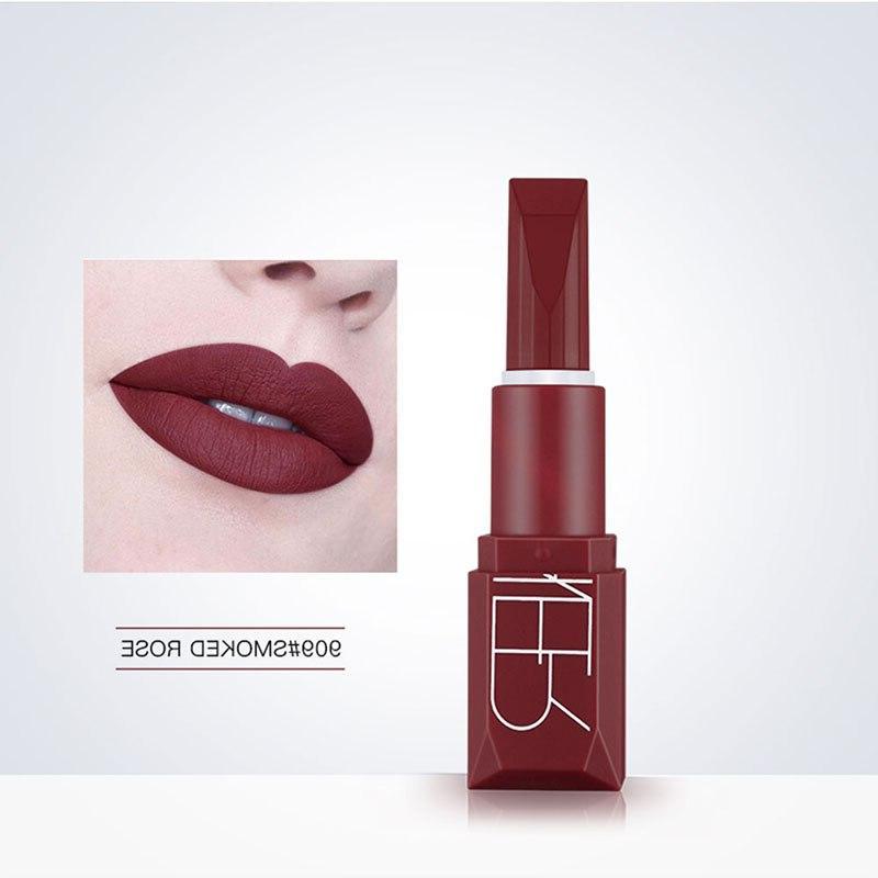 Matte Lipstick 5 Colors Waterproof Long-lasting Rich <font><