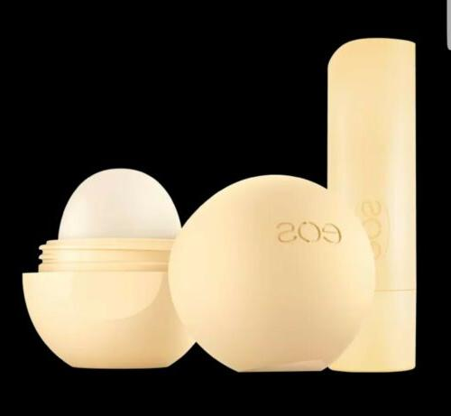 EOS Set BALM Holiday/Christmas Organic Vanilla Bean