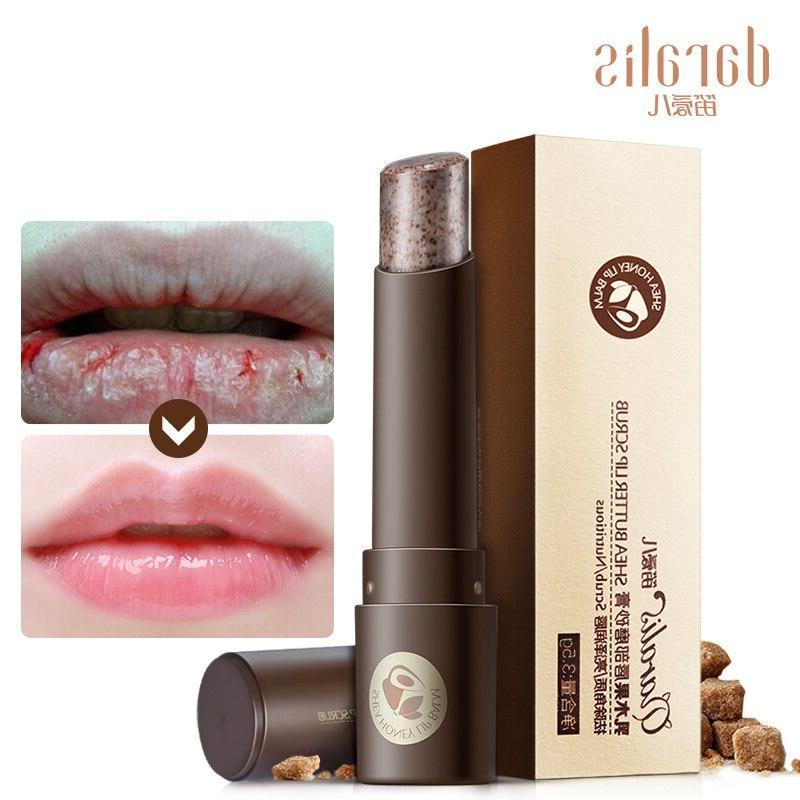 Daralis <font><b>Balm</b></font> <font><b>Lips</b></font> Lipstick Exfoliating Nonstick for Care