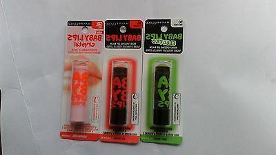 3 baby lips moisturizing lip balm different