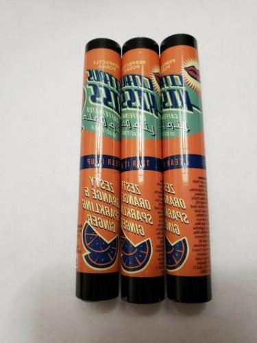 3 Perfectly Posh Lip ZESTY & SPARKLING oz