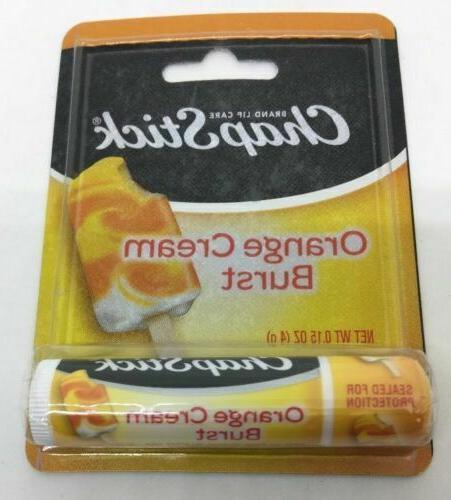 3 Pack oz. Orange Cream Burst Lip Balm Sealed