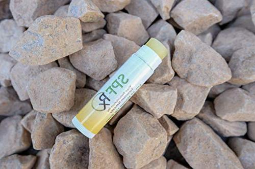 SPF30 Lip Balm with Organic Essentials Highly Natural Moisturizing