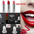 3PCS/Set DIY Lipstick Mold Mould Lip Balm Homemade Silicone