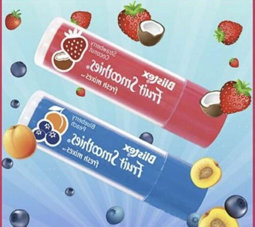 3x Blistex Peach Fruit Lip Fresh