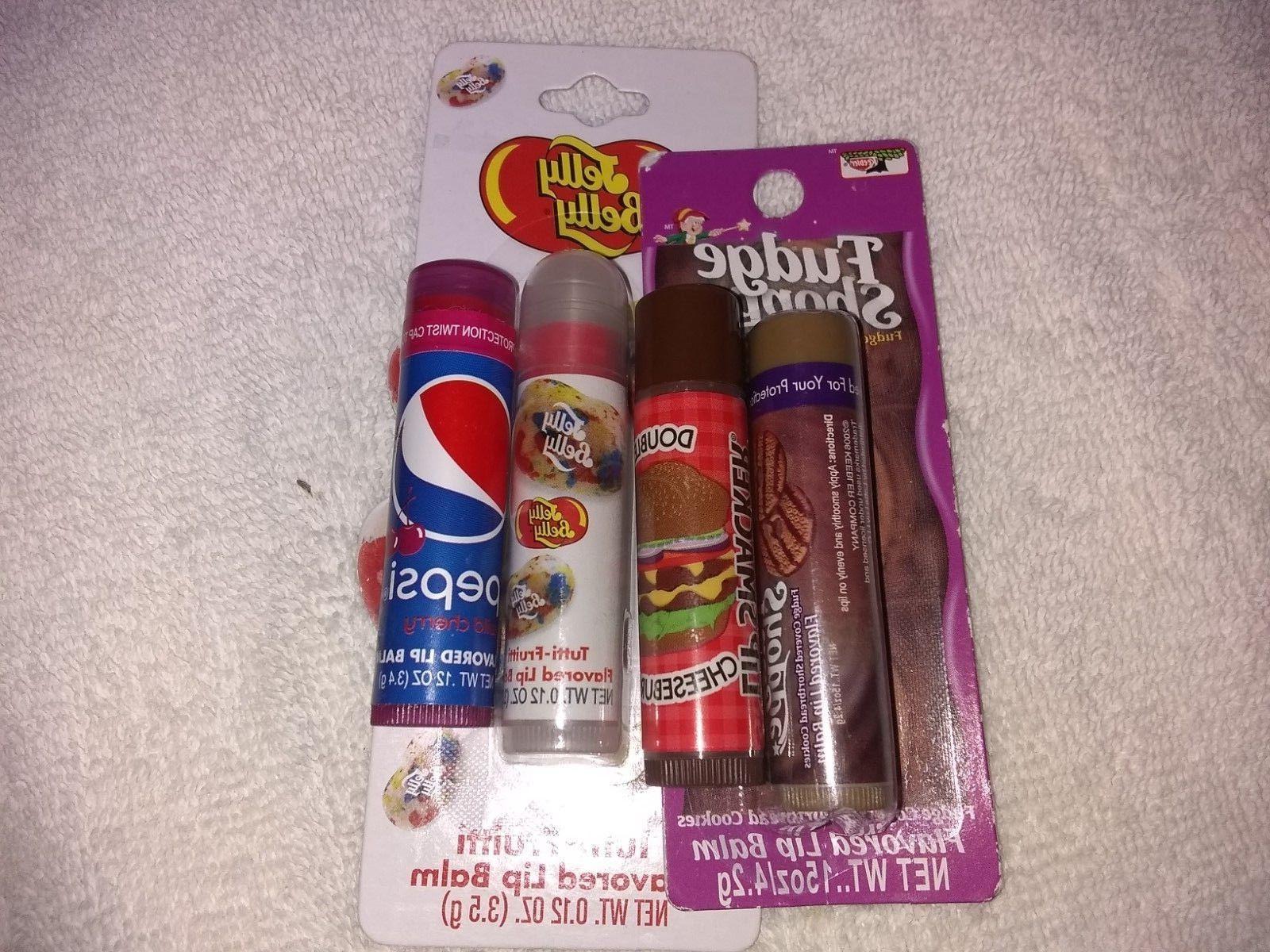 4 lot lip balm fudge shoppe cookie