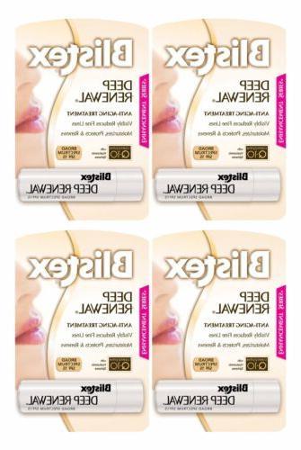 4 pack deep renewal anti aging lip