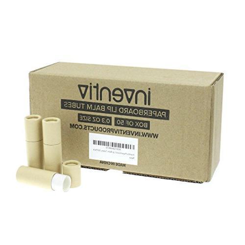 50 Inventiv Paperboard Lip Chapstick