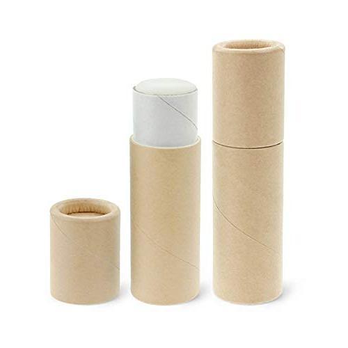 50 pack paperboard lip balm tubes cardboard