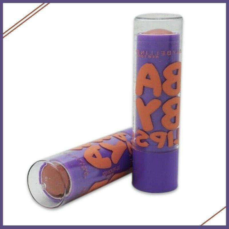 Maybelline York Baby Lips Balm PEACH - 6 PACK