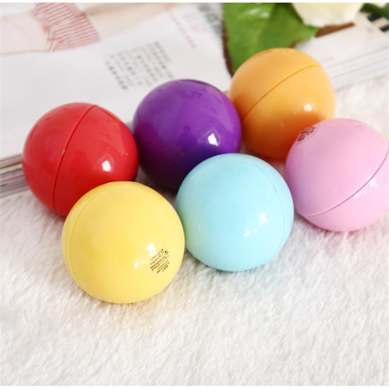 6 <font><b>Lip</b></font> <font><b>Balm</b></font> <font><b>Organic</b></font> Taste Fruit Embellish Ball