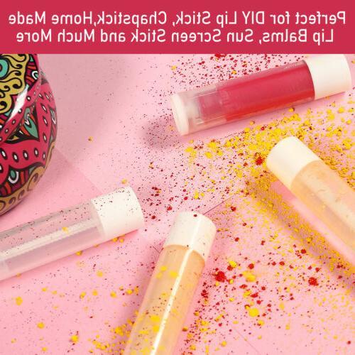 60x 5.5ml Plastic Lipstick Tubes DIY