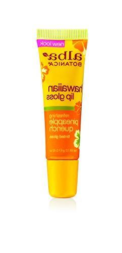Alba Botanica Hawaiian, Pineapple Quench Tinted Lip Gloss, 0