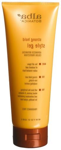Alba Botanica Style Gel - Strong Hold - 7 oz