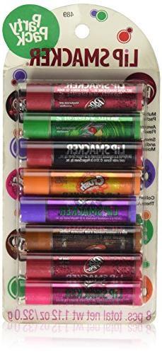 Bonne Bell Lip Smacker Party Pack 8 Count Soda Pop Flavors