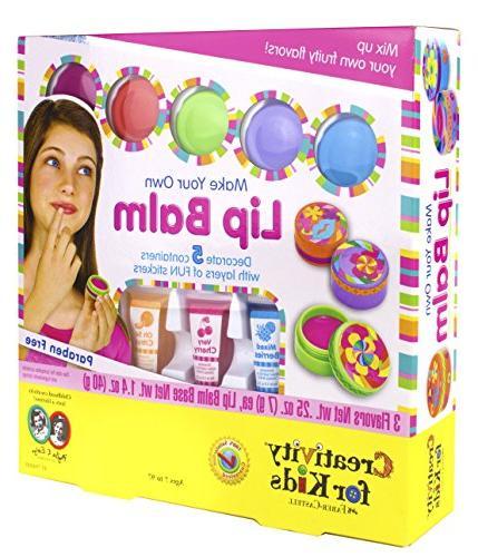 Creativity for Kids Make Your Own Lip Balm Kit  Makes 5 Lip