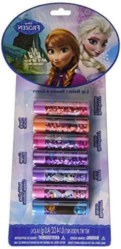 Disney Frozen 7-Piece Lip Balm Set