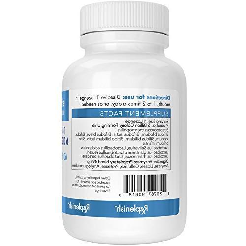 EFFERVESS Probiotics and 60 Chewable Lozenges 5 Billion