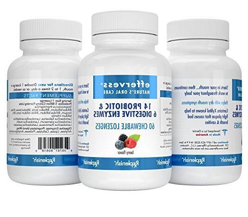 EFFERVESS - REPLENISH Probiotics and 60 5 Billion CPUs