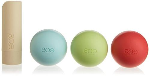 EOS Organic Lip Balm - 4 PACK SET