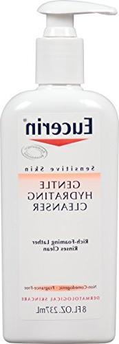Eucerin Sensitive Skin Gentle Hydrating Cleanser 8 Fluid Oun