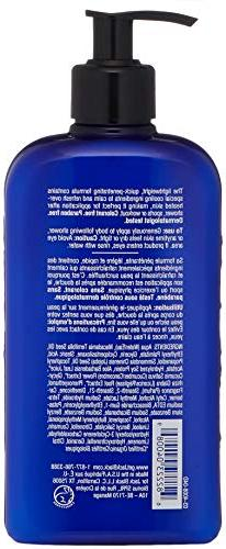 JACK Moisture Body Lotion – Nourish Body Overheated Skin, Mild Natural E and Jojoba, Nut 16