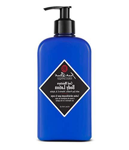 JACK Moisture Body – Nourish Refreshes Overheated Skin, Mild Natural Scent, Soy E Jojoba, Macadamia Nut 16 oz.