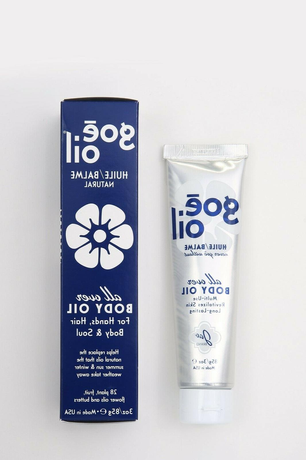 Jao Ltd -All Over Long Lasting Natural Body Goe Oil 3oz