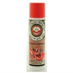 Merry Hempsters, Organic Hemp Lip Balm Cinnamon .14 oz