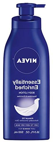 NIVEA Essentially Enriched Body Lotion 16.9 Fluid Ounce