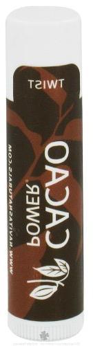 Navitas Naturals - Cacao Power Lip Balm Organic - 0.15 oz.