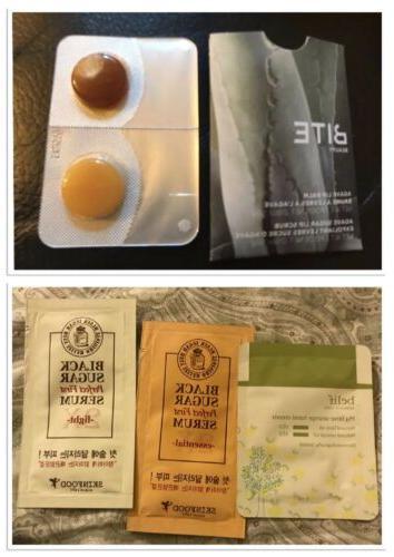 Bite Beauty Balm & Agave Sugar Lip Scrub Korean