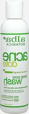 Alba Botanica Alba Acne Dote Deep Pore Wash-6 oz Face Wash