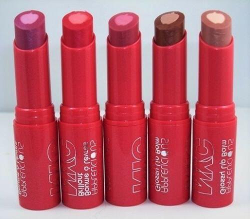 NYC APPLELICIOUS Glossy Lip Balm Moisturizing CHOOSE YOUR CO