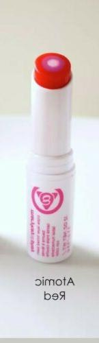 MARY KAY AT PLAY TRIPLE LAYER LIP BALM~ATOMIC RED~New in Box