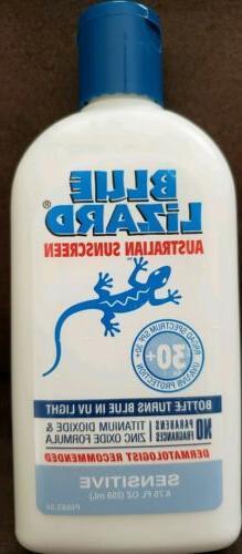Blue Lizard Australian Sunscreen SPF 30+, Sensitive, 8.75-Ou