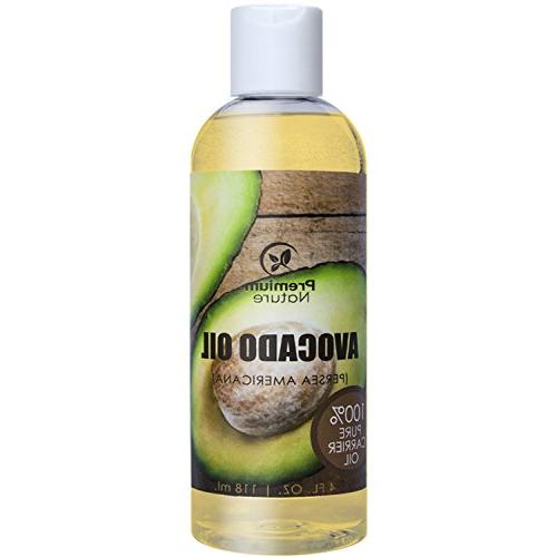 Avocado Natural Carrier Oil - Massage Oil Skin Care Skin - Moisturizing Irritated Skin
