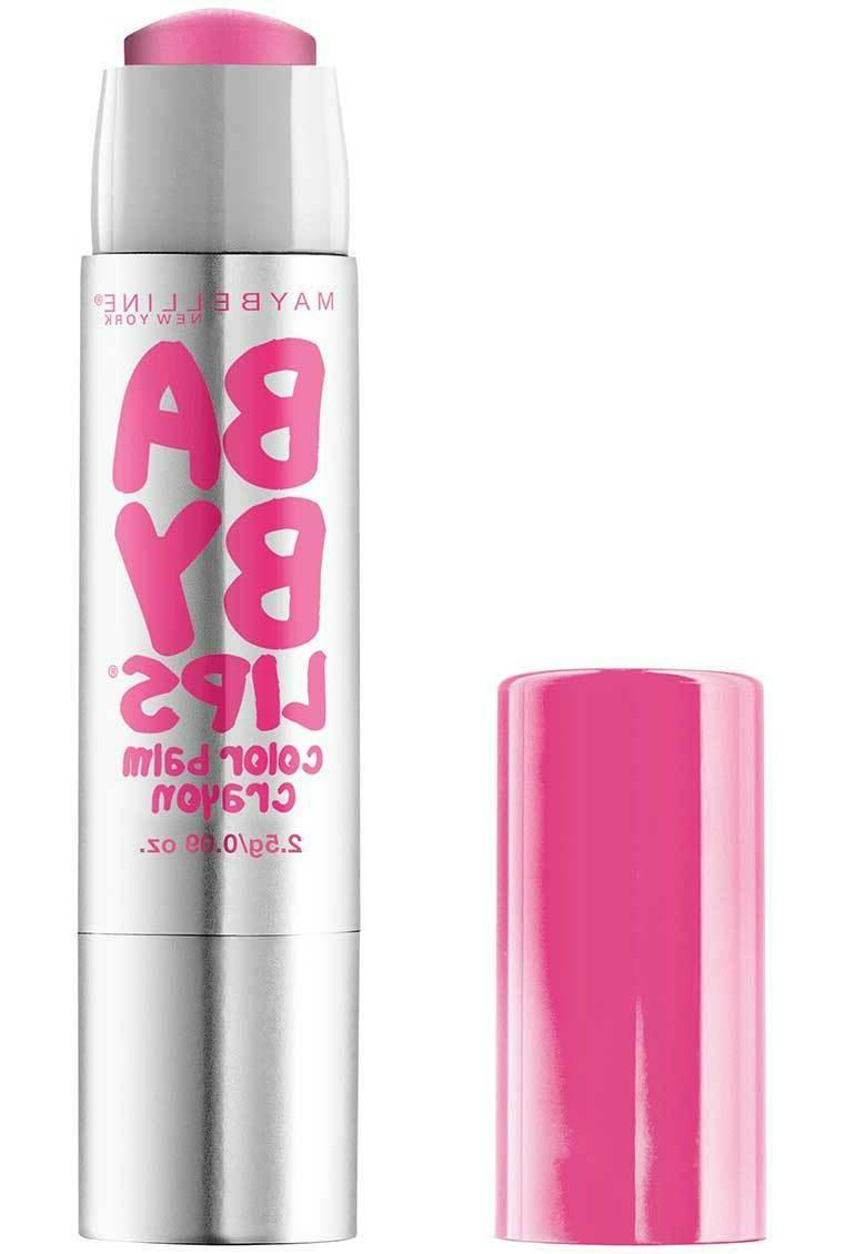 Maybelline New York Baby Lips Color Balm Crayon CHOOSE OF 2